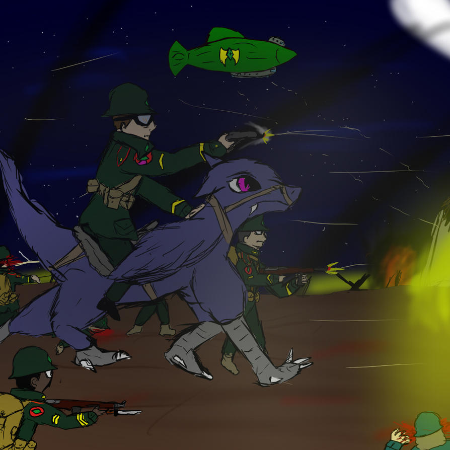 Night Raid  by comic-maker