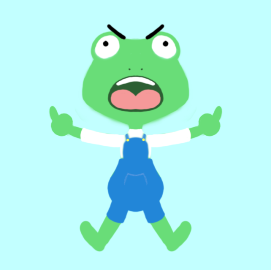 This Frog by blueberrybones