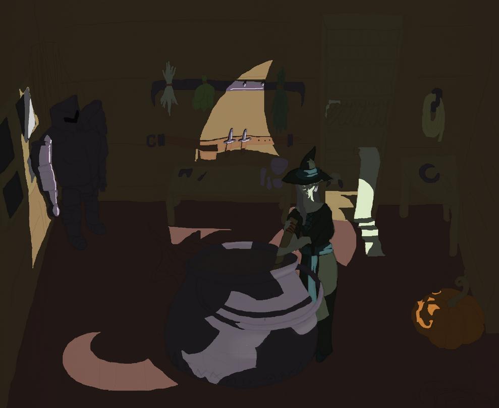 Halloween Hovel by 15ImaginaryRabbit15
