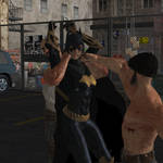 Batgirl defeated by thugs 8