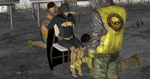 Batgirl interrogated by thugs (12)