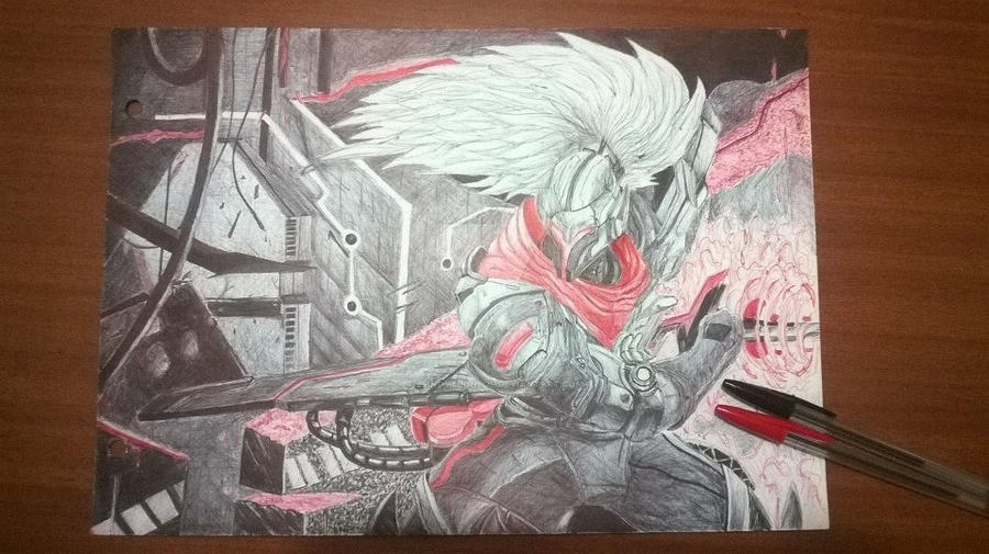 PROJECT Yasuo Drawing By BlindMelonLoL