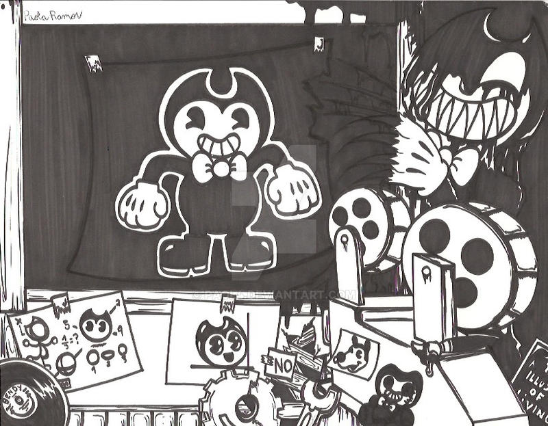 bendy and the ink machine chapter 2 boris