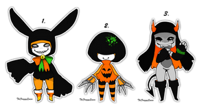 [CLOSED] Halloween Orikero Adopts by TheFroggyQueen