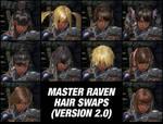 017 Master Raven Hair Swaps V2