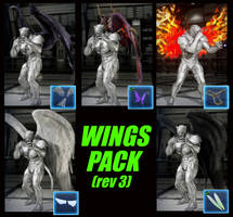 045 More Wings For All by 9876789