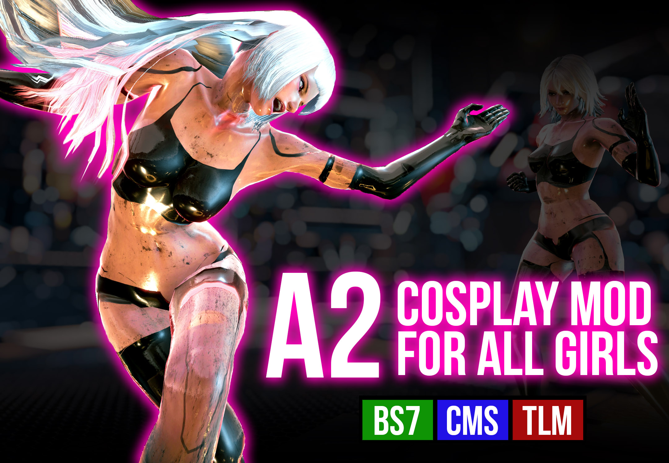 024 A2 Cosplay Mod (updated)
