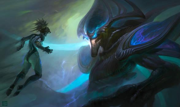 Kerrigan vs Hibryd