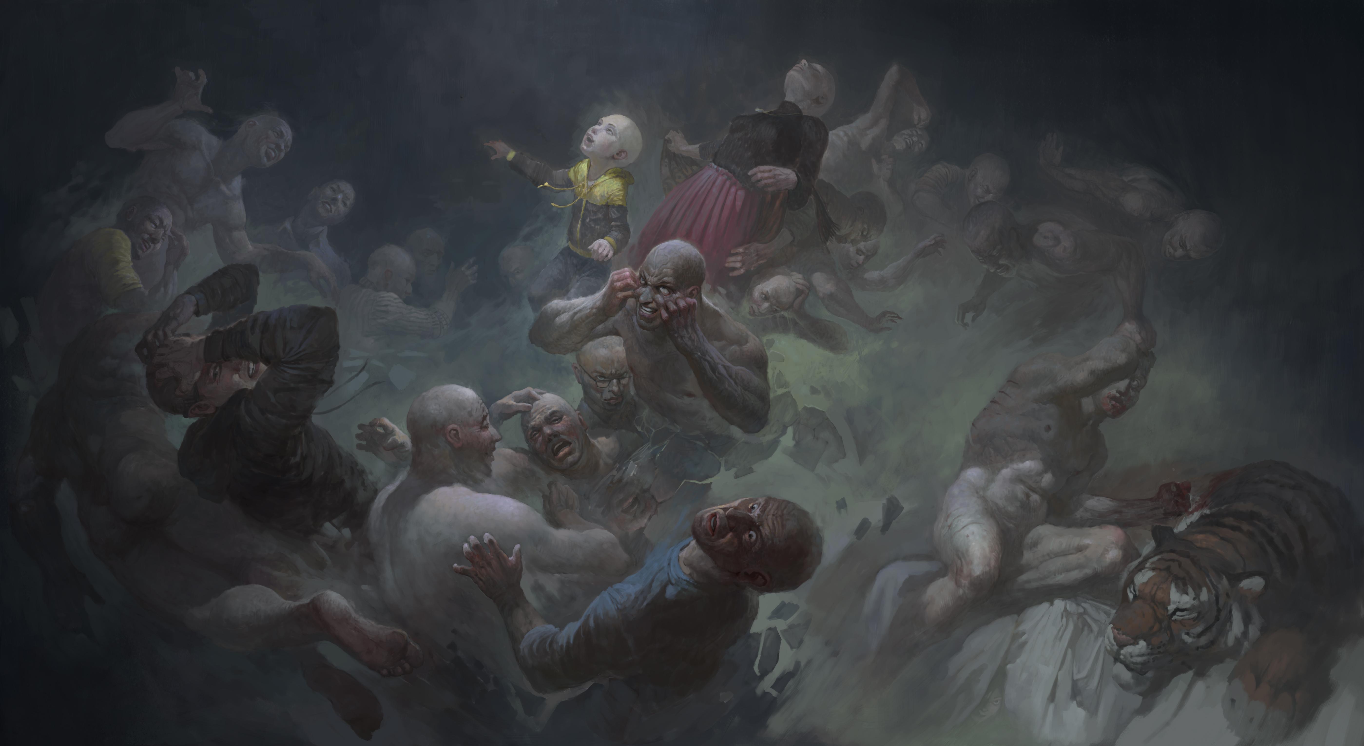 Zombie Bedroom Wallpaper