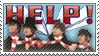 Stamp: Beatles - HELP by Smitkins