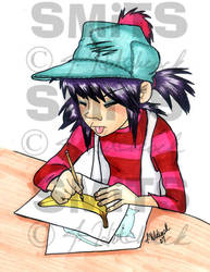 Noodle Doodles - COLOR by Smitkins