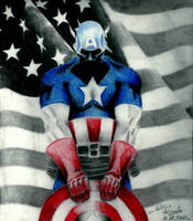 Captain America by Frontside92