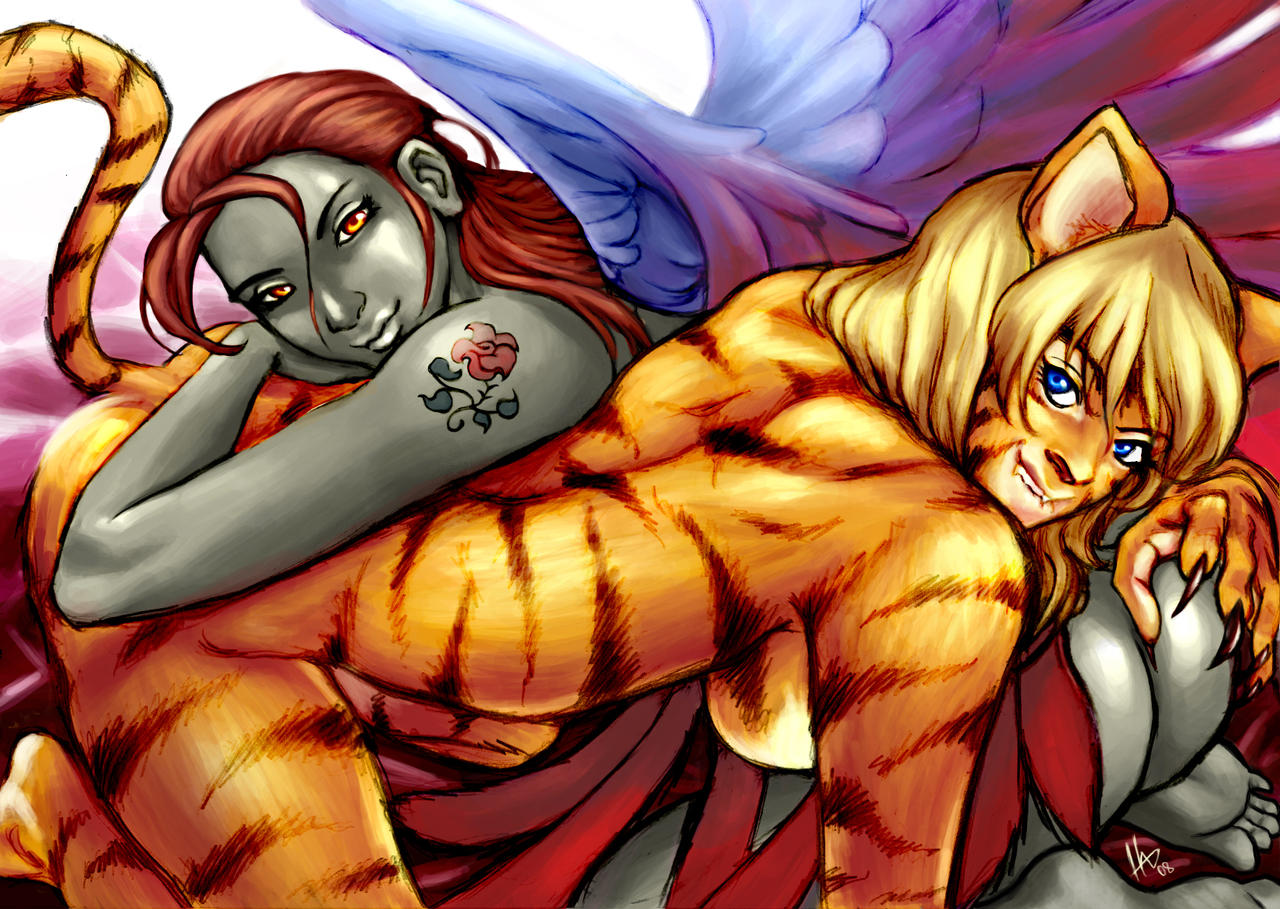 pics anime sex White tiger