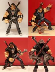 Brutal Legend Custom Figure