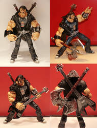Brutal Legend Custom Figure by hugohugo