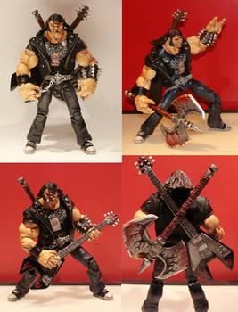 Brutal Legend Custom Figure by hugohugo