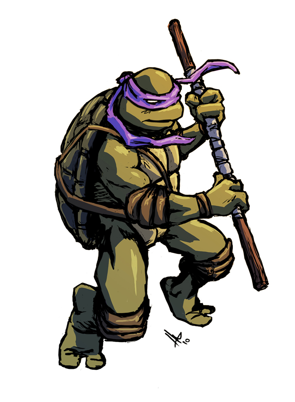 TMNT Donatello by hugohugo on DeviantArt