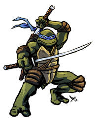 TMNT Leonardo by hugohugo