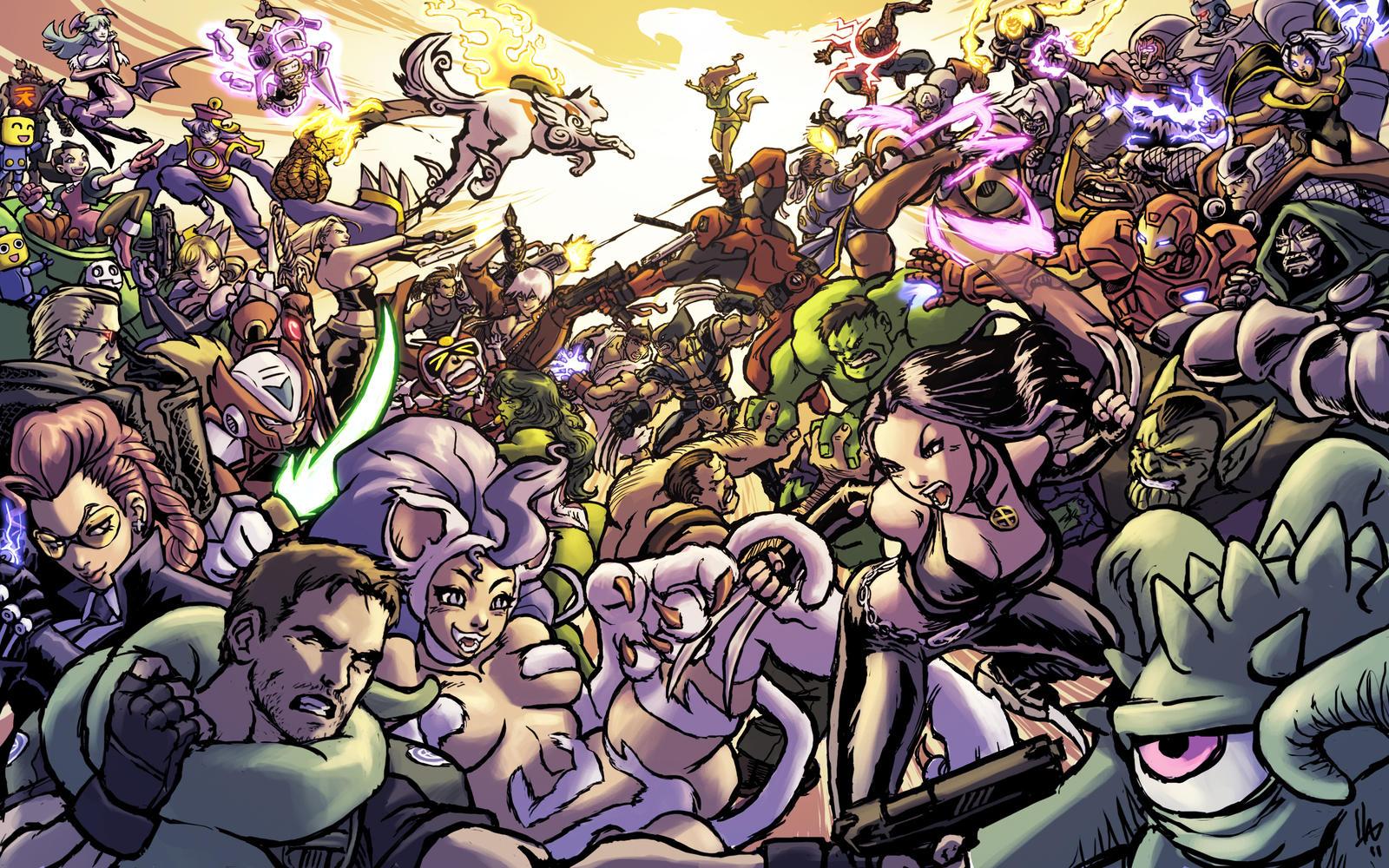Ultimate Marvel Vs Capcom 3 Available Now On Xbl And Psnoh Wait Infinite Reg