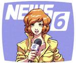 April on Channel 6 News