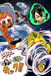 Kamen Rider FOURZE RaidaaRokettoDoriruKikku!