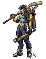 TMNT Casey Jones by hugohugo