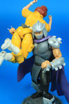 TMNT Classic April and Shredder Figures