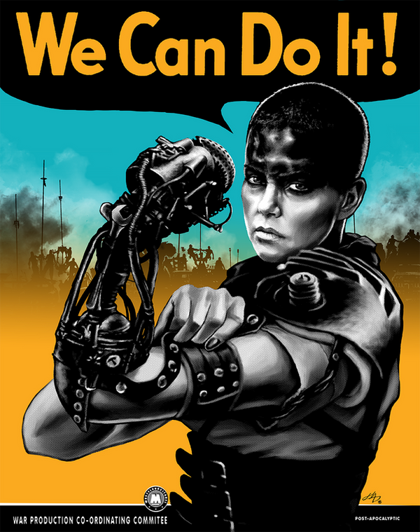We Can Do It (Furiously) by hugohugo