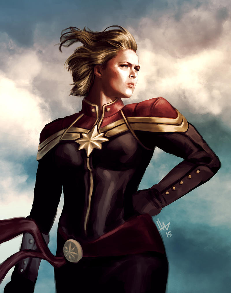 Ronda Rousey could totally play Captain Marvel