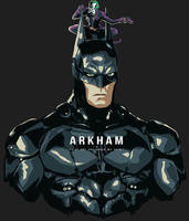 Arkham man by hugohugo