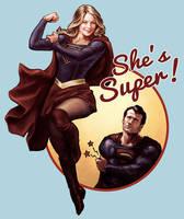 She's Super! by hugohugo