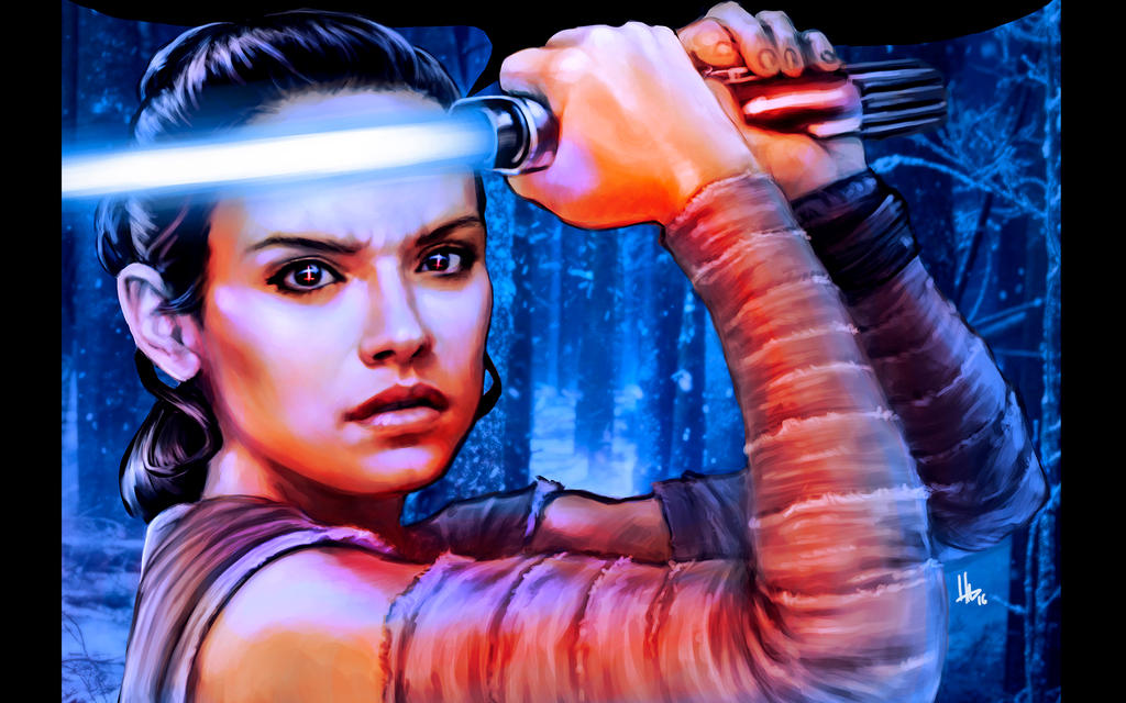 Rey Can use it as wallpaper! by hugohugo
