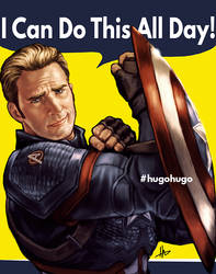 Cap Can Do it (All Day) by hugohugo