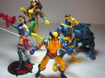 my xmen action figures