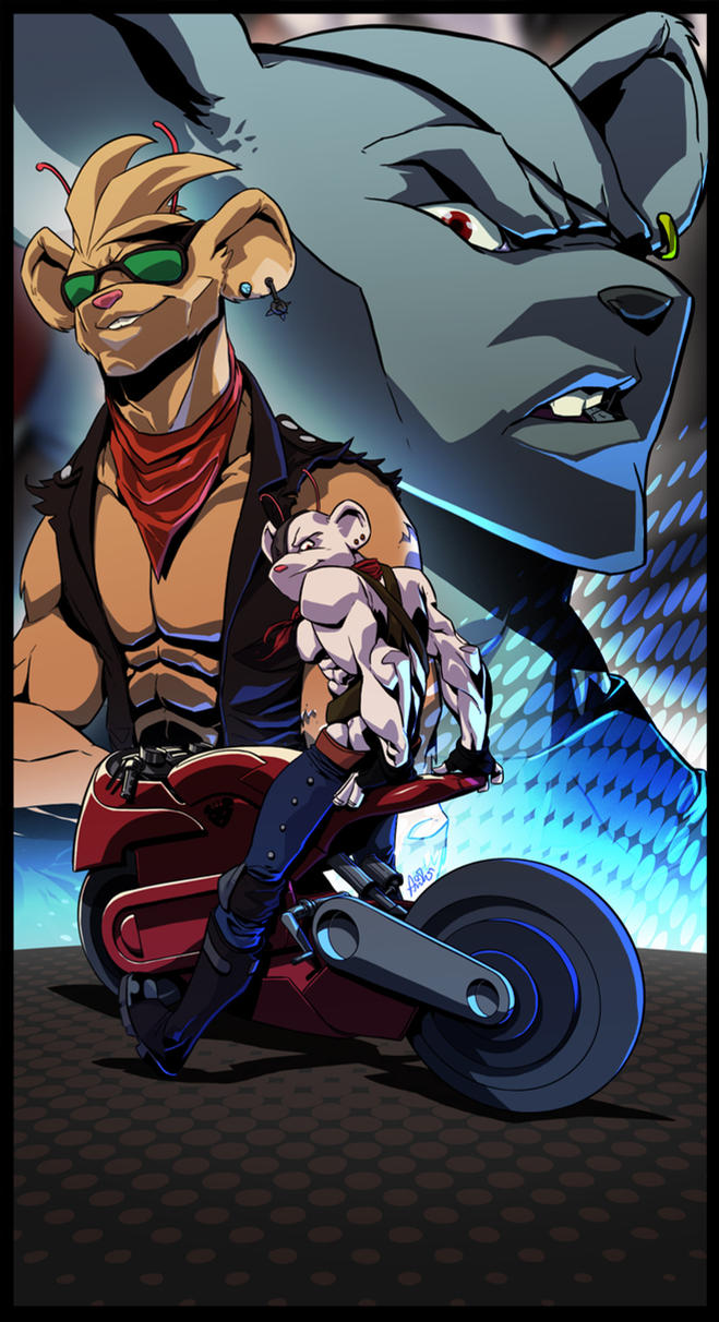 DeviantArt: More Collections Like Biker Mice From Mars ...