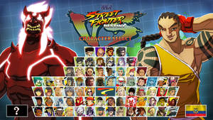 SFDJAM - Shin Ryu VS Roberto