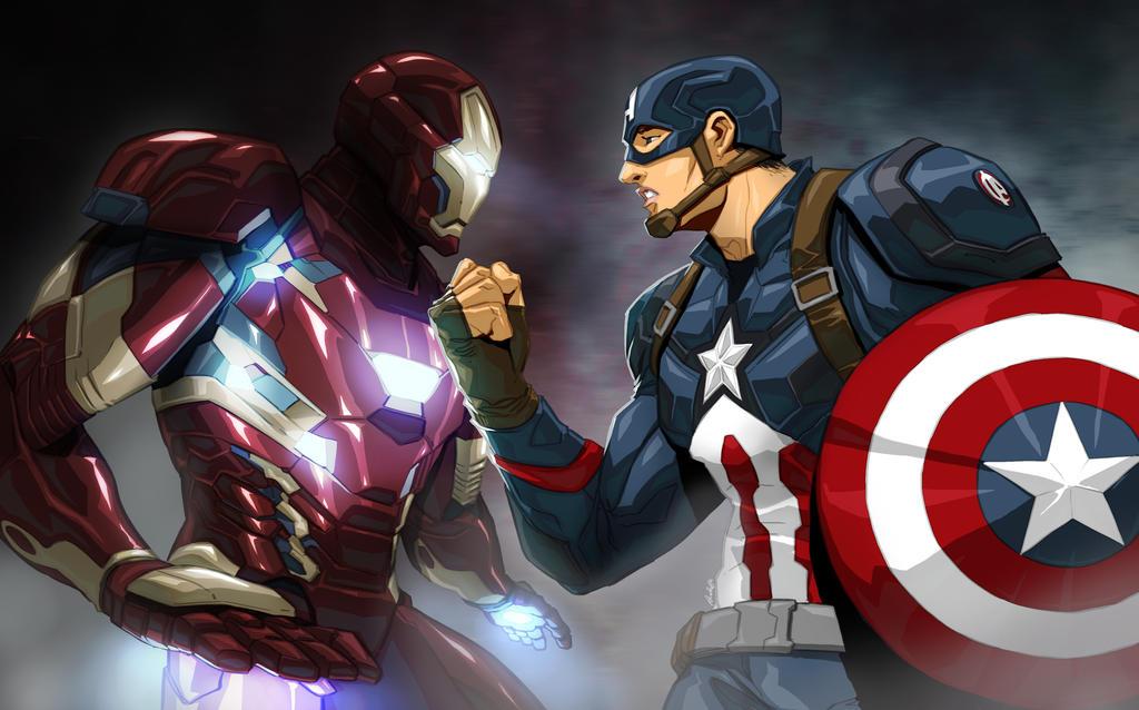Civil War Bust up by Dreviator