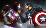 Civil War Bust up