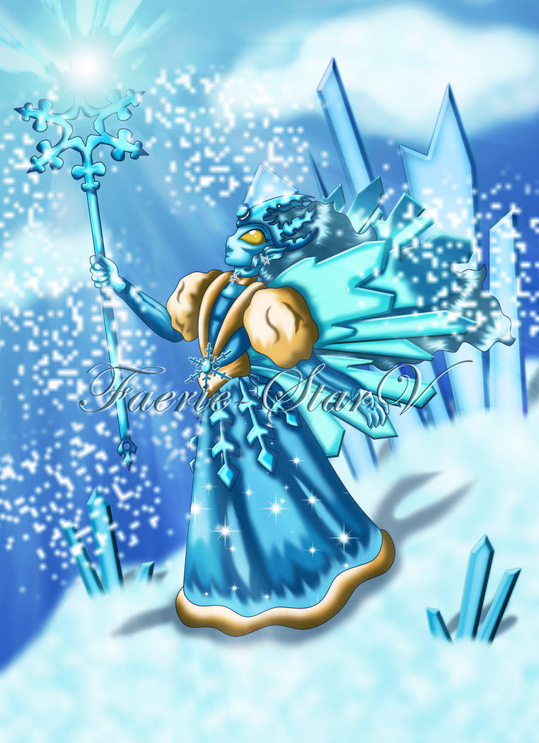 Monster Legends: Caillech the Ice Faerie