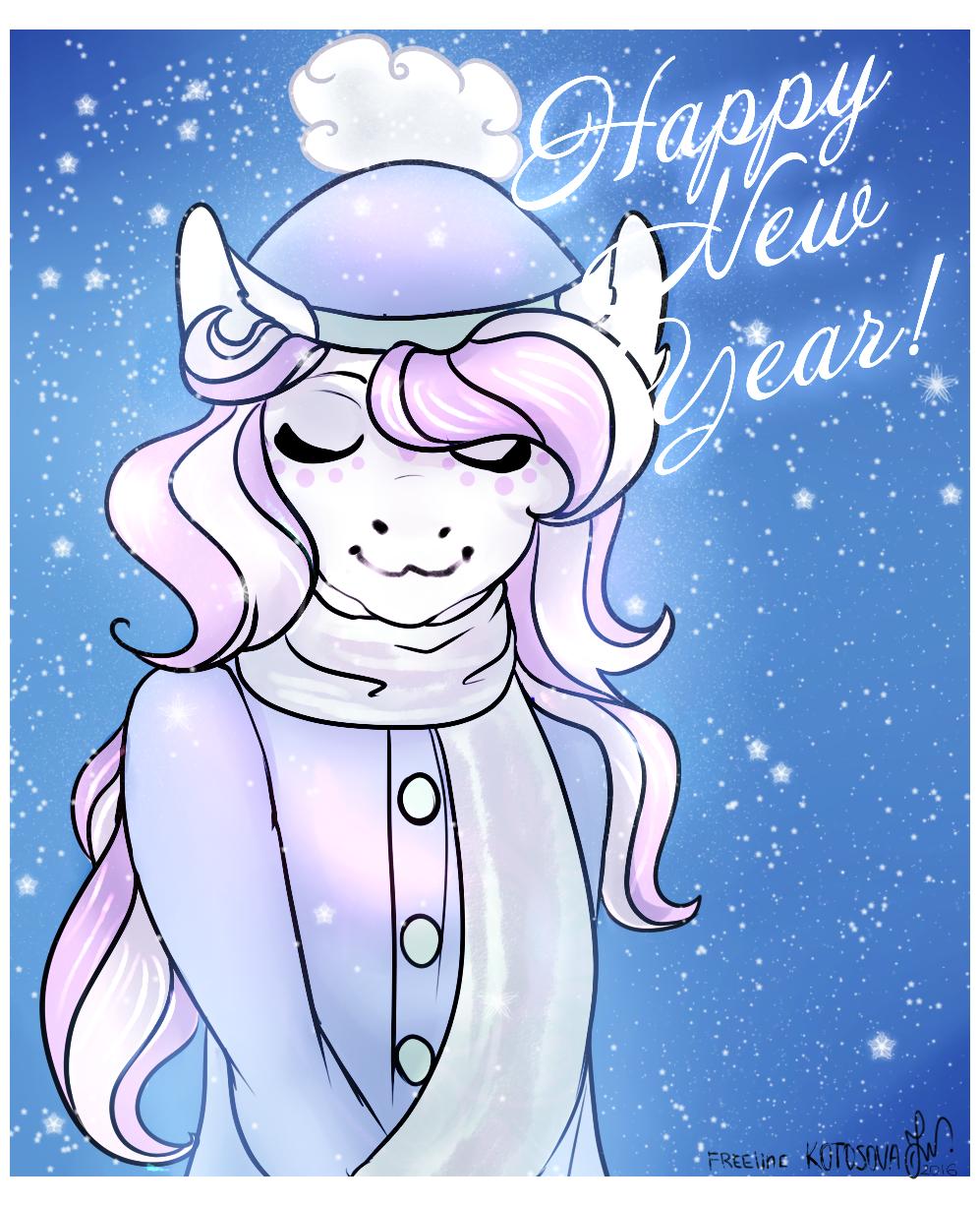 Happy New Year by zombiegoddess666