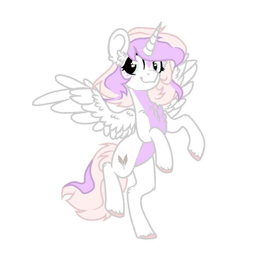 Alicorn Feather by zombiegoddess666