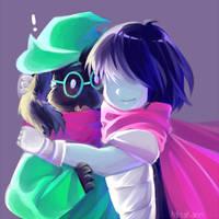 Hug Ralsei? by MisaKarin