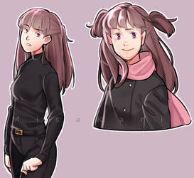 some art of my persona by MisaKarin