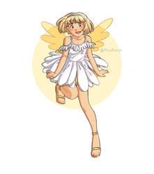 Flower fairy series - Daisy