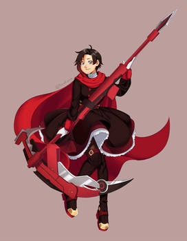 RWBY - Ruby volume 7 redesign
