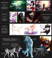 Commission Price Chart - CLOSED by Mara-Elle