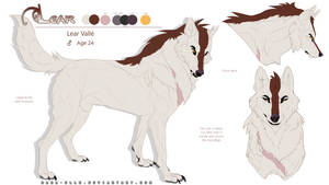 Lear - Reference Sheet 2016 by Mara-Elle