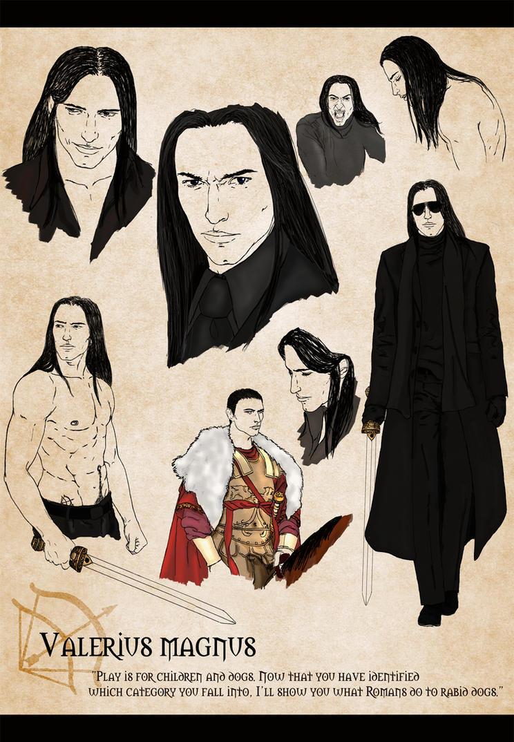 Darkhunter Valerius By Breogan Acheron By Raigekidan