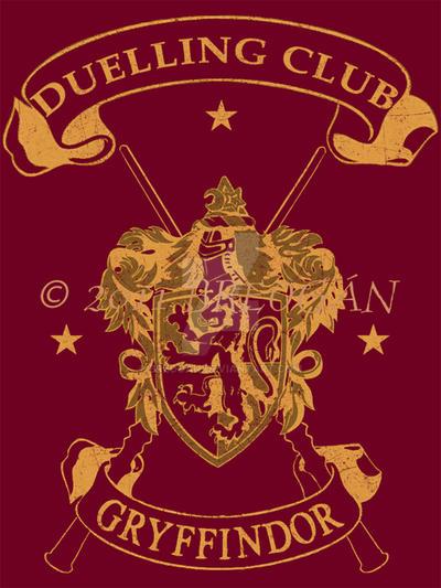 Gryffindor Duelling Club Tee by Breogan