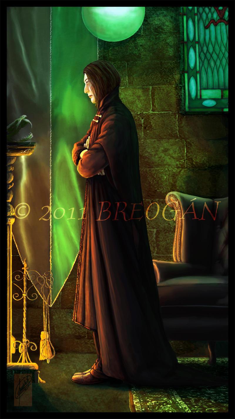 Slytherin Common Room Digital Painting